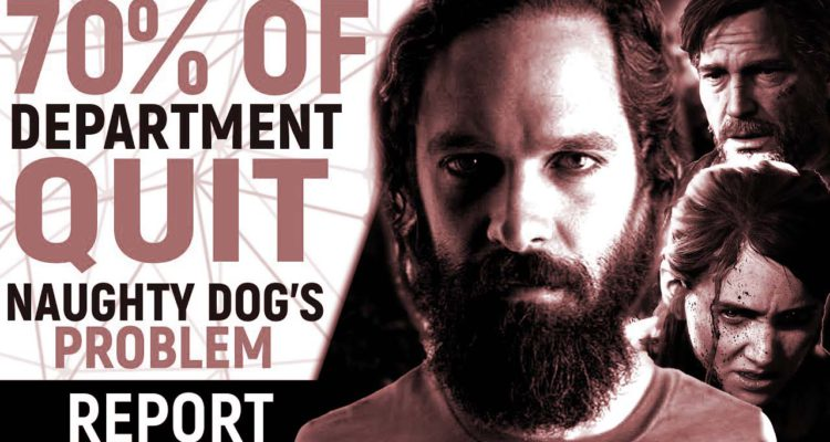 Naughty Dog developers quit