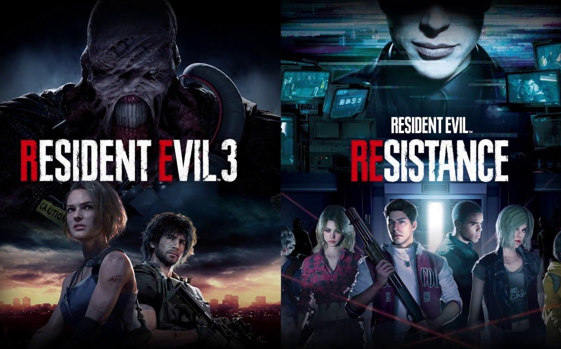 resident evil 3 demo and resistance beta