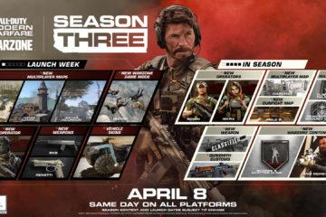 Call of Duty Season 3 update