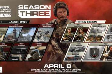 Call of Duty Season 3 update