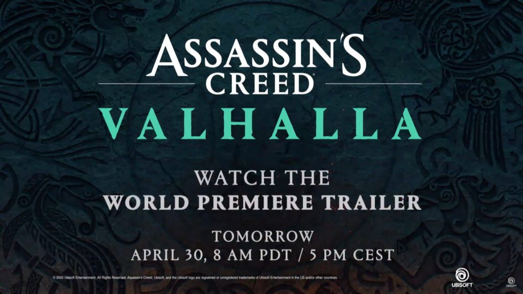 Assassin's Creed Valhalla reveal trailer
