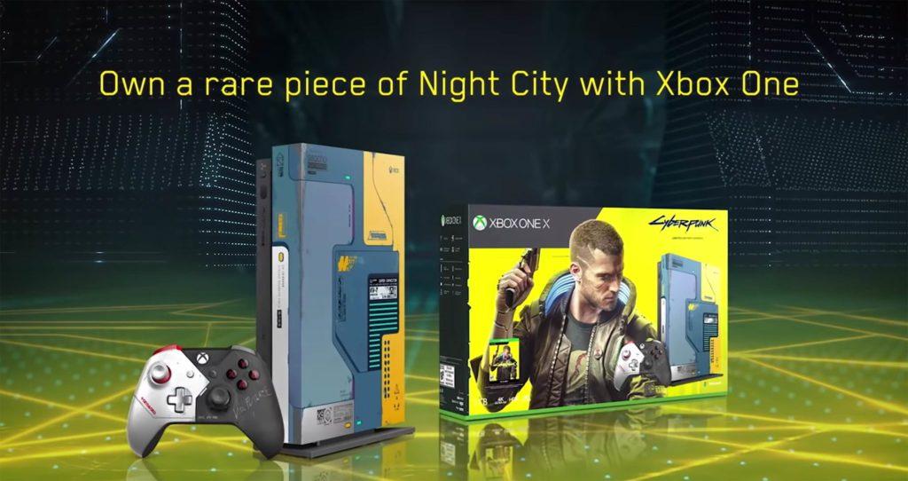 Cyberpunk 2077 Xbox one X full reveal