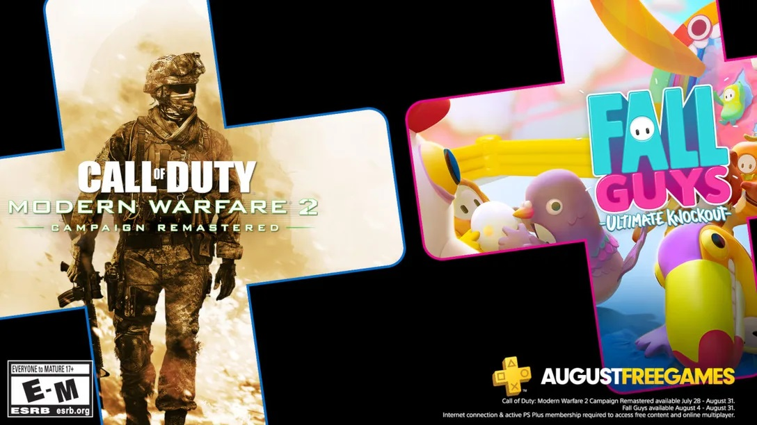 Playstation Plus August games